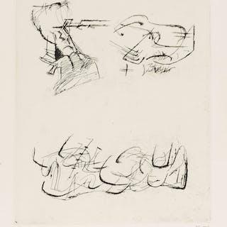 Henry Moore (1898-1986) Three Motives (Cramer 157), Henry Moore (1898-1986)