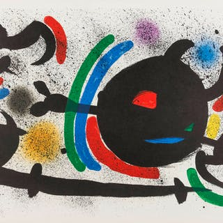 Joan Miro (1893-1983)  From Lithographie I (M 860, 865, 866), Joan