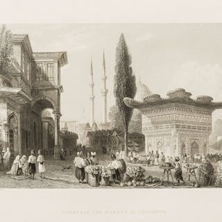 Levant.- Pardoe (Julia) The Beauties of the Bosphorus, Virtue & Co.