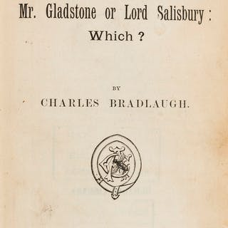 Bradlaugh (Charles) [Tracts: Various], c.22 tracts bound together
