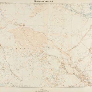 Middle East.- Royal Geographical Society. Northern Arabia, [Captain