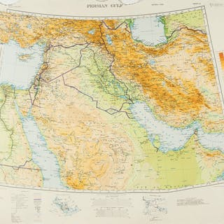 Middle East.- Directorate of Military Survey, War Office and Air Ministry
