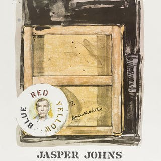 Jasper Johns (b.1930) (after) Souvenir, Jasper Johns (b.1930) (after), Souvenir