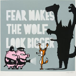 Mau Mau Fear Makes the Wolf Look Bigger, Mau Mau, Fear Makes the Wolf