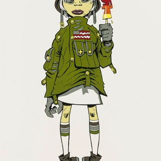 Jamie Hewlett (b. 1968) M16 Assault Lolly, Jamie Hewlett (b. 1968)