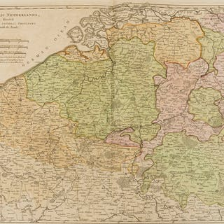 Netherlands.- Sayer (Robert) The Catholic Netherlands, divided into