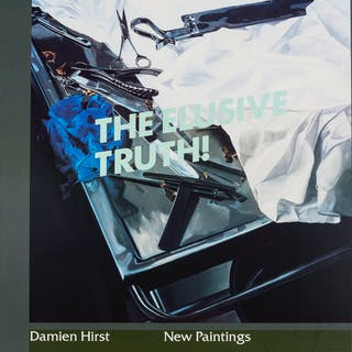 Damien Hirst (b.1965) New Paintings: The Elusive Truth (set of three)