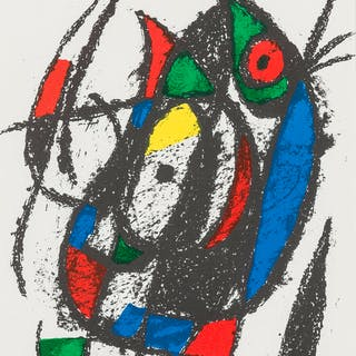 Joan Miro (1893-1983) Untitled; Untitled (from Lithographe II) (Cramer