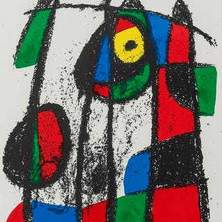 Joan Miro (1893-1983) Untitled; Untitled; Untitled (from Lithographe