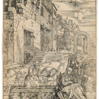 Albrecht Dürer (1471-1528) The Holy Family in Egypt, from: The Life
