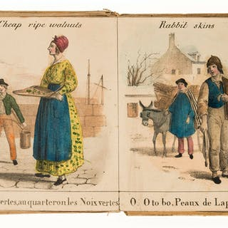 Panorama.-  Alphabet des Cris de Paris; Paris Cries, 24 hand-coloured
