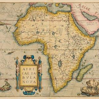 Africa.- Ortelius (Abraham) Africae Tabula Nova [1570 or later], Africa.-