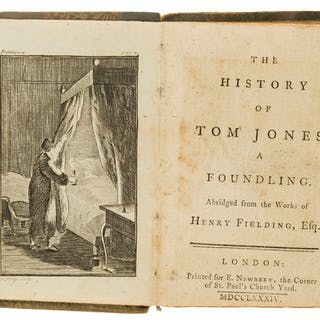 Fielding (Henry) The History of Tom Jones, a Foundling. Abridged...