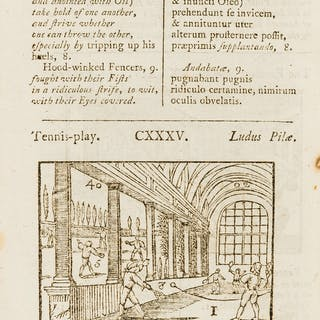 Comenius (Johann Amos) Orbis sensualium pictus..., twelfth edition