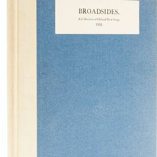 Cuala Press.- Yeats (William Butler) Broadsides. a Collection of Old