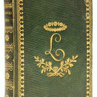 Napoleon Bonaparte.-  Annuaire présenté au Gouvernement par le Bureau