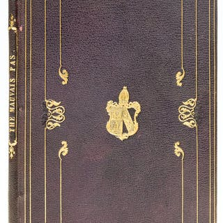 Provincial binding.- Stanley (Edward) The Mauvais Pas, a scene in