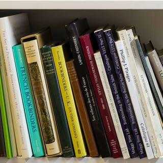 Bookbinding.- Bennett (Stuart) Trade Bookbinding in the British Isles