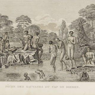 Voyages.- La Billardière (Jacques-Julien) Atlas pour servir à la Relation