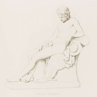 Gibson (John) Engravings from Original Compositions Executed in Marble