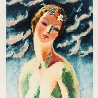 Kees Van Dongen (1877-1968) Céres Buste de Femme, Kees Van Dongen