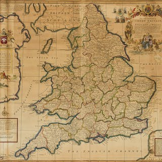England & Wales.- Moll (Herman) The Southern Part of Great Britain