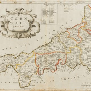 Cornwall.- Morden (Robert) Cornwall, [c. 1695]; and two others (3)
