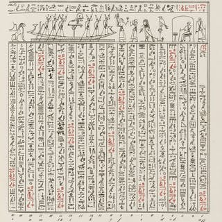 Egyptology.- Lepsius (Karl Richard) Das Todtenbuch der Ägypter nach