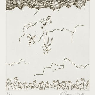 Keith Haring (1958-1990) Untitled (From the Valley Suite) (see Littman