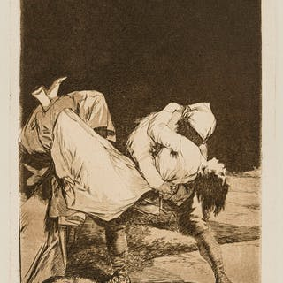 Francisco Goya (1746-1828)  Fifteen plates from 'Los Caprichos', the