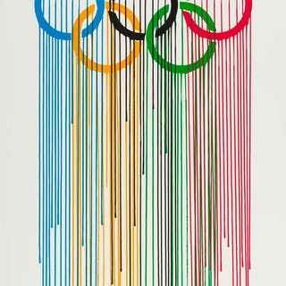 ZEVS (b.1977) Liquidated Olympic Rings, ZEVS (b.1977), Liquidated Olympic Rings