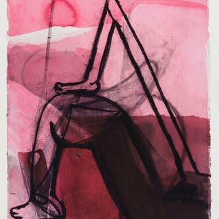 Amy Sillman (b.1955) Untitled, Amy Sillman (b.1955), Untitled
