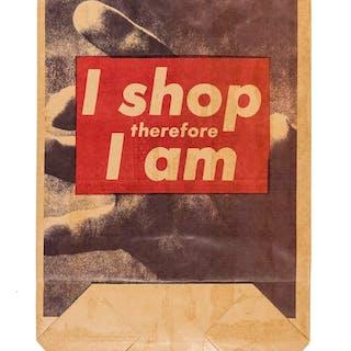 Barbara Kruger (b.1945) I Shop Therefore I Am, Barbara Kruger (b.1945)
