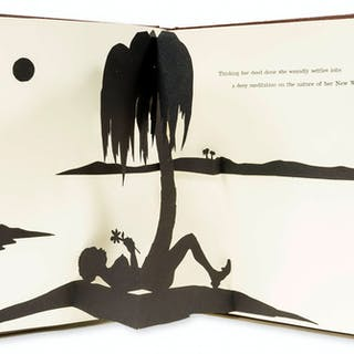 Kara Walker (b.1969) Freedom, A Fable: A Curious Interpretation of
