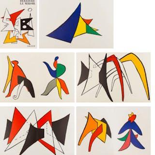 Alexander Calder (1898-1976) Derrière le Miroir No. 141, Alexander