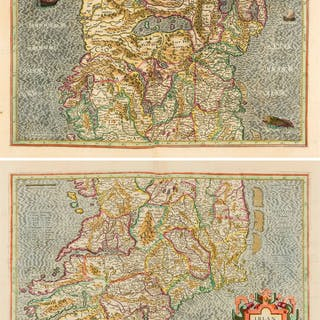 Ireland.- Mercator (Gerard) Irlandiae Regnum, on two sheets, [Amsterdam