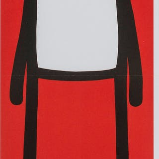 Stik Standing Figure (Red), Stik, Standing Figure (Red)