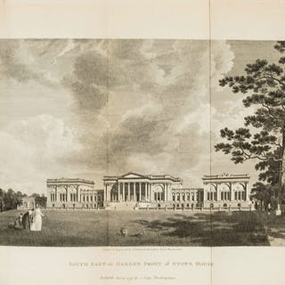 Stowe.- Stowe. A Description of the House and Gardens of the...Duke
