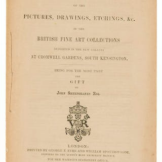 Victoria & Albert Museum.- Redgrave (Richard) Inventory of the Pictures
