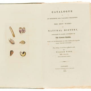 Natural History.- Wood (William) Catalogue of an Extensive and Valuable