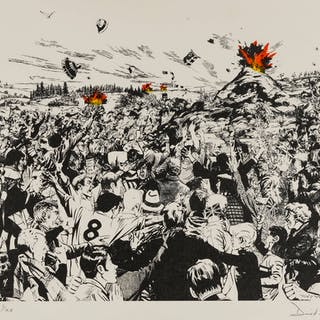 David Mach (b.1949) Untitled, David Mach (b.1949), Untitled