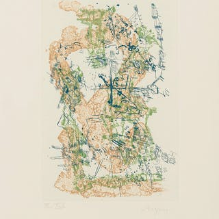 Camille Bryen (1907-1977) Untitled, Camille Bryen (1907-1977), Untitled
