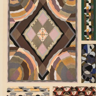 Benedictus (Edouard) Nouvelles Variations, 20 pochoir plates, Paris
