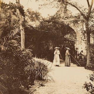 Hanbury (Sir Thomas) Photograph Album of La Mortola Garden, presentation