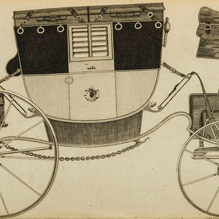 Carriages.- Felton (William) A Treatise on Carriages, 2 vol. in 1