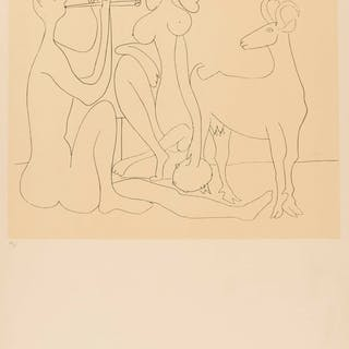 Pablo Picasso (1881-1973) (after) Mes Dessins d'Antibes (CZW 140)