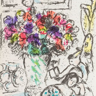 Marc Chagall (1887-1985) Chagall Lithographe I-VI (Cramer 43, 56