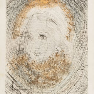 Salvador Dali (1904-1989) Marguerite (Field 69-1A; M&L 298k), Salvador