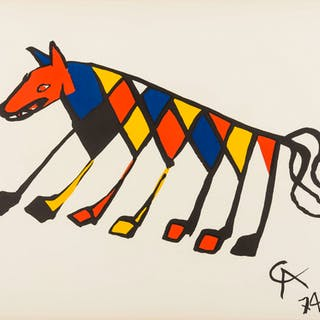 Alexander Calder (1898-1976) Convection, Beastie (two works), Alexander