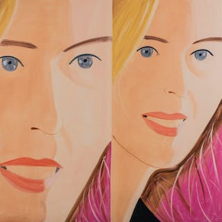 Alex Katz (b.1927) Sasha Two, Alex Katz (b.1927), Sasha Two